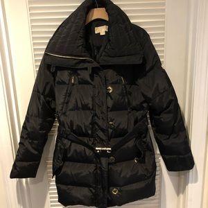 MICHAEL KORS Black Winter Coat